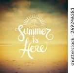 digitally generated summer is... | Shutterstock .eps vector #269246381