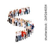 corporate culture waiting for... | Shutterstock . vector #269264054