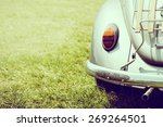 Vintage Headlight Car   Vintag...