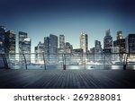 cityscape urban scene modern... | Shutterstock . vector #269288081