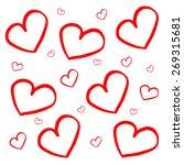 hearts | Shutterstock . vector #269315681