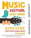 Acoustic Music Festival Poster...