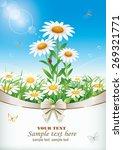 flowery meadow | Shutterstock .eps vector #269321771