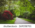 ohlsdorf cemetery  hamburg ... | Shutterstock . vector #269358701