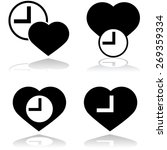 icon showing a heart and a... | Shutterstock .eps vector #269359334
