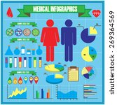 medical infographics | Shutterstock . vector #269364569