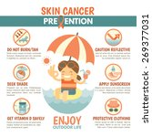 skin cancer prevention... | Shutterstock .eps vector #269377031