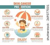 skin cancer prevention... | Shutterstock .eps vector #269377031