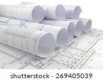 image of several drawings for...   Shutterstock . vector #269405039