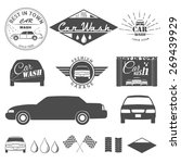 car wash  | Shutterstock .eps vector #269439929