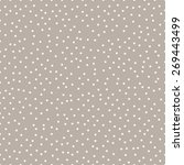 seamless anthracite gray... | Shutterstock . vector #269443499
