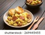 Scrambled Eggs With Chorizo...