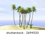 tropical beach | Shutterstock . vector #2694533