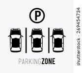 parking design over white...   Shutterstock .eps vector #269454734