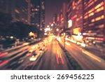 abstract bokeh light background ... | Shutterstock . vector #269456225
