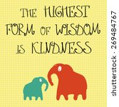 inspirational words 'the... | Shutterstock .eps vector #269484767