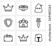 kingdom icons. | Shutterstock . vector #269485265
