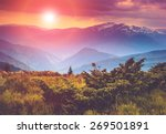 Colorful Sunset In The...