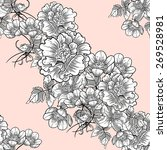 vintage flowers. abstract... | Shutterstock .eps vector #269528981