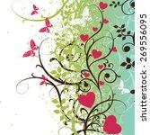 beautiful vector illustration...   Shutterstock .eps vector #269556095