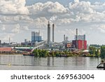 Industrial Paper Mill Along A...
