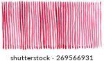 pink watercolor line | Shutterstock . vector #269566931