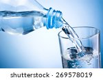 Close Up Pouring Water From...