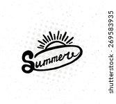 conceptual handwritten phrase... | Shutterstock .eps vector #269583935