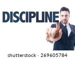 business man pointing the text  ... | Shutterstock . vector #269605784