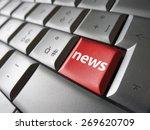online news internet concept... | Shutterstock . vector #269620709