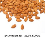 almonds  | Shutterstock . vector #269656901