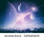 another world landscape ... | Shutterstock . vector #269660645