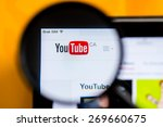 Постер, плакат: YouTube CA website home
