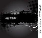 grunge banner or background ... | Shutterstock .eps vector #26966269