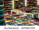 female shoes diversity at... | Shutterstock . vector #269681555
