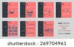 design vector flat template...