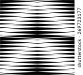 striped pattern of triangle... | Shutterstock .eps vector #269723177