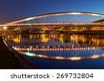 a view of bridges over vistula... | Shutterstock . vector #269732804