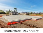 view of construction site and... | Shutterstock . vector #269770679