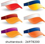 multiple colored collegiate... | Shutterstock .eps vector #26978200