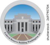 federal reserve building ... | Shutterstock .eps vector #269790704