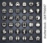 businessmen and business... | Shutterstock .eps vector #269793047