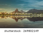 sunrise over mountains in rio... | Shutterstock . vector #269802149