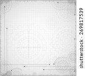 cogwheel background | Shutterstock .eps vector #269817539