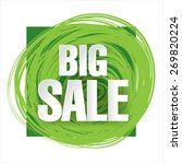 big sale  | Shutterstock .eps vector #269820224