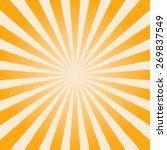 sunburst background  shiny... | Shutterstock .eps vector #269837549