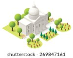 vector isometric icon... | Shutterstock .eps vector #269847161