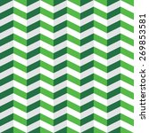 seamless pattern with green and ... | Shutterstock .eps vector #269853581