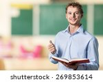 english  learn  studying. | Shutterstock . vector #269853614