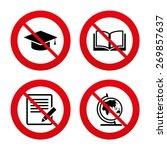 No  Ban Or Stop Signs. Pencil...